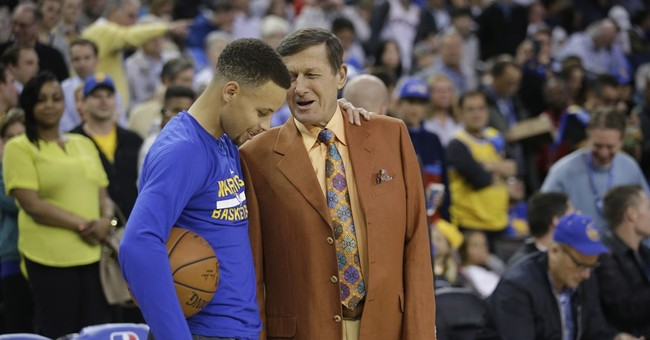 Craig Sager in high spirits as he works Wizards-Warriors