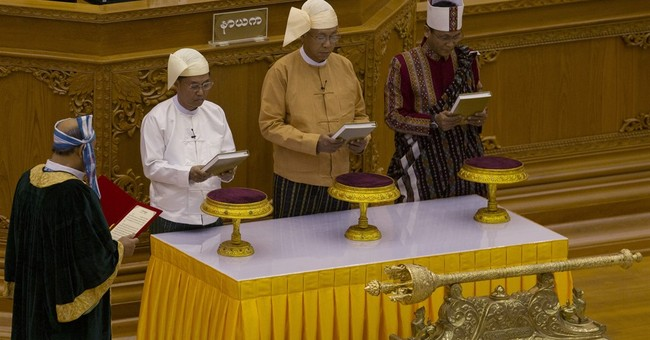 Myanmar democracy takes momentous step with new president