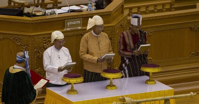 Myanmar democracy takes momentous step with new president