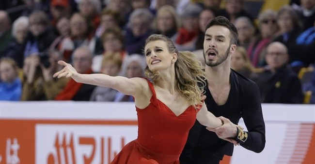 France's Papadakis, Cizeron lead after short dance at worlds