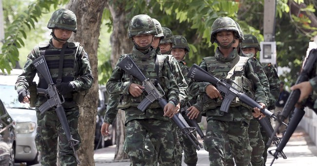 Thai junta chief gives military broad new police-like powers