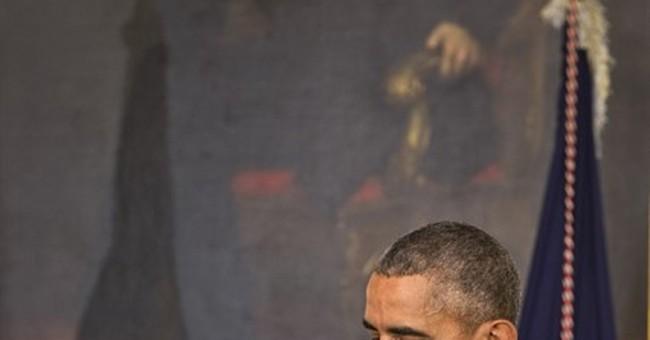 Obama says terrorists trying to 'weaken our faith'
