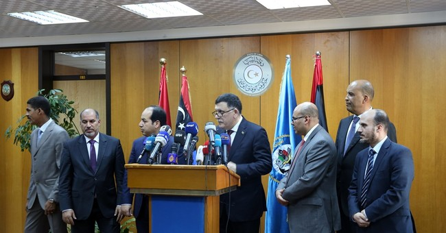 Head of UN-backed government sails to Libyan capital