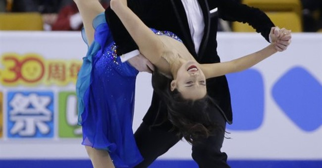 France's Papadakis, Cizeron lead after short dance at worlds