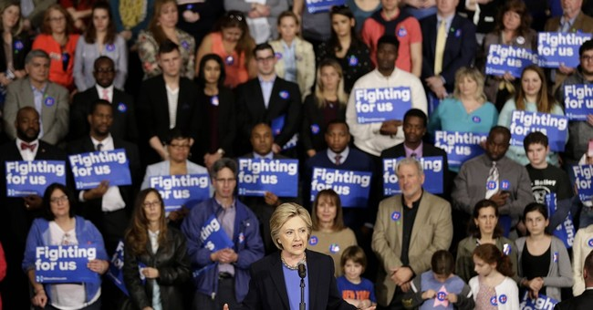 With New York primary ahead, Clinton digs into her past