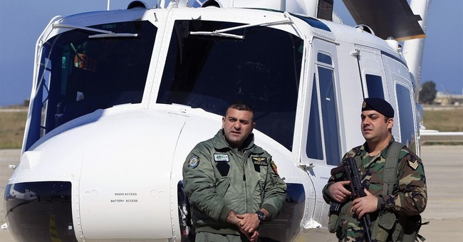Lebanon's military receives 3 helicopters from the US