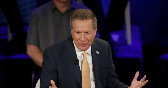 Kasich pitches himself as a sturdy alternative to GOP rivals