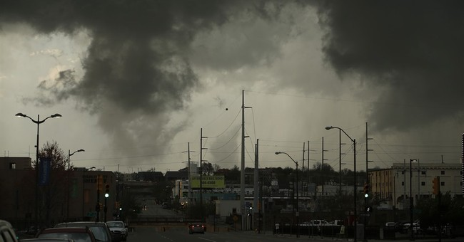 7 hurt, damage reported after tornado touchdowns in Oklahoma