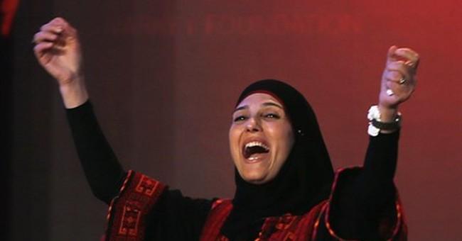 Foundation defends award to Palestinian teacher