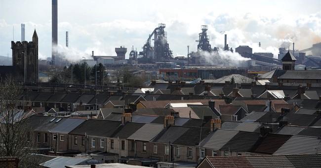 Struggling steel industry sparks crisis in UK