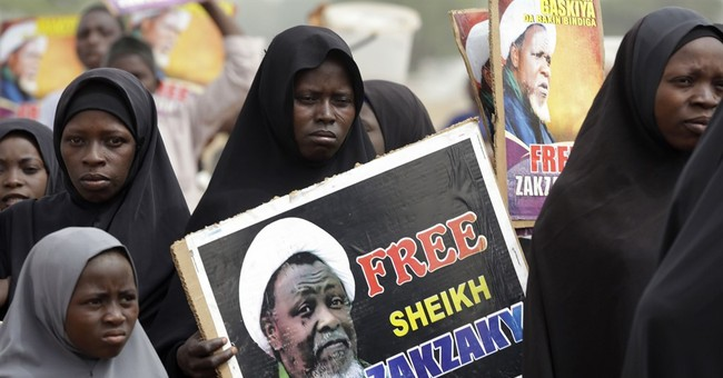 Protesters demand release of detained Nigerian Shiite leader