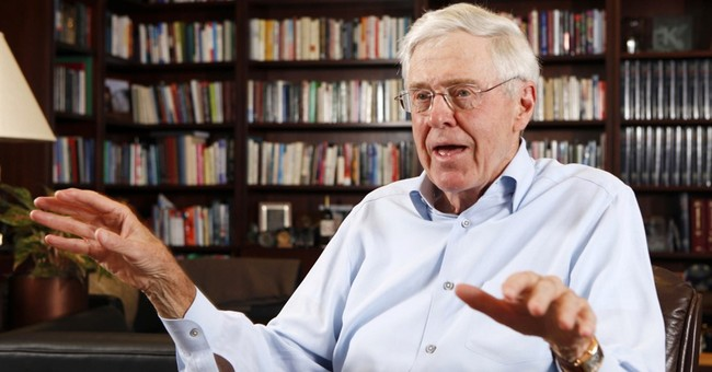 George Mason University becomes a favorite of Charles Koch