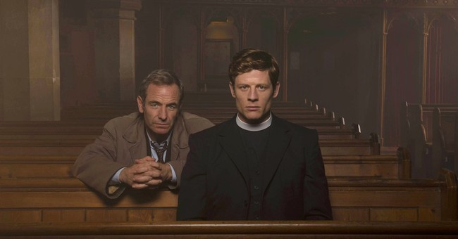 Vicar, cop dynamic duo makes PBS' 'Grantchester' a standout