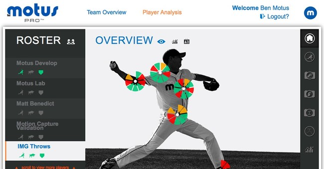 Can sensors prevent elbow injuries in baseball?