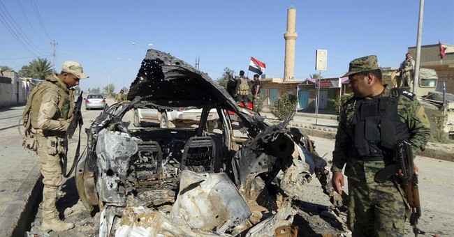 Trapped civilians stall Iraqi forces battling IS in Anbar