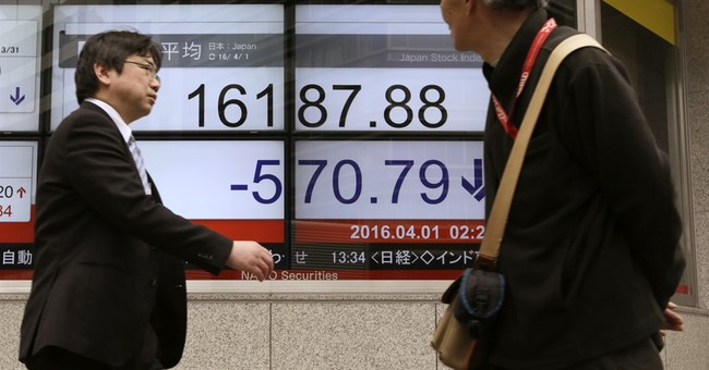 Global stock markets fall ahead of US jobs report