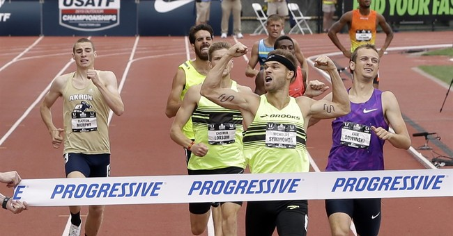 Runner Nick Symmonds not shy about speaking up to fix track