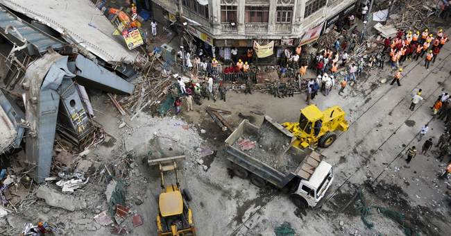 Overpass collapse just latest construction accident in India