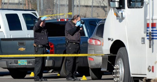 Video depicts chaotic scene as lieutenant shoots colleague
