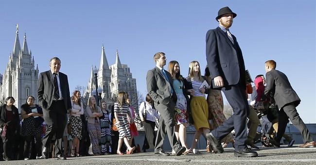 Mormon leader urges tolerance no matter political views