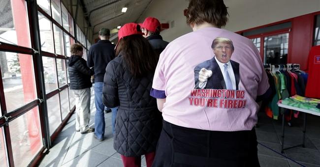 Trump hopes message appeals to Democrats, independents too