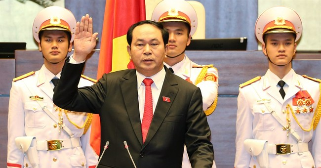 Vietnam elects police chief to No. 2 post of president