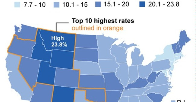 Many Western states seek ways to lower high suicide rates
