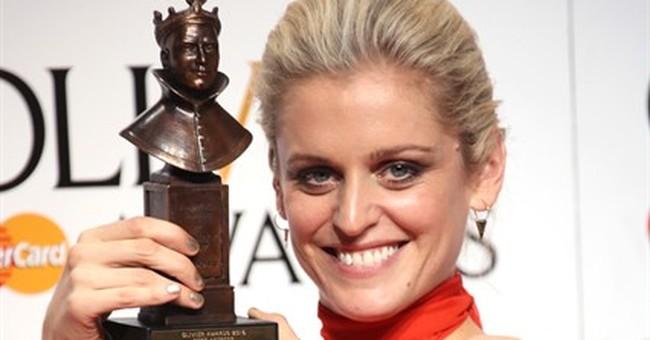'Kinky Boots,' 'Hangmen,' 'Gypsy' win at UK's Olivier Awards