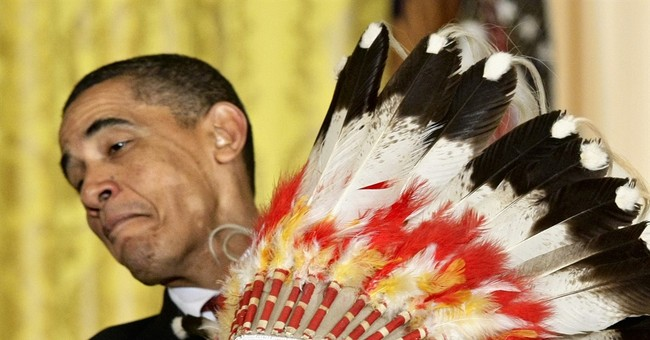 The Latest: Obama notes passing of historian, Crow war chief