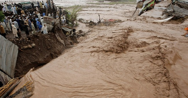 Official: Rain, floods kill 45 in northwest Pakistan