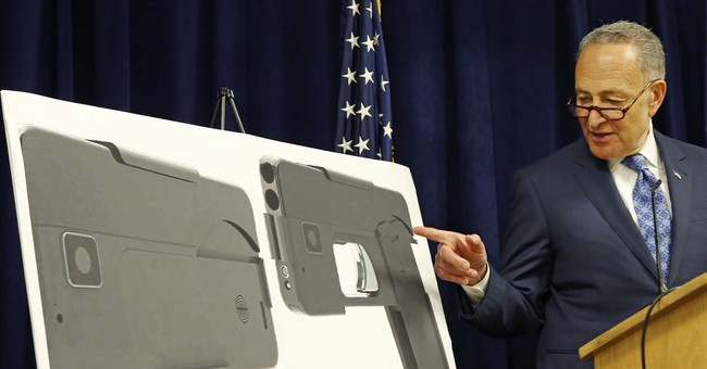Schumer wants investigation into gun that looks like a phone