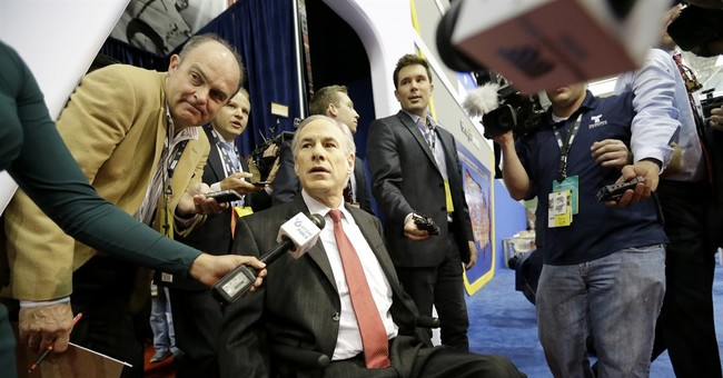 Texas governor's book on struggle after paralyzing accident