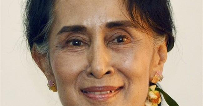 Myanmar lawmakers OK new executive post for Suu Kyi