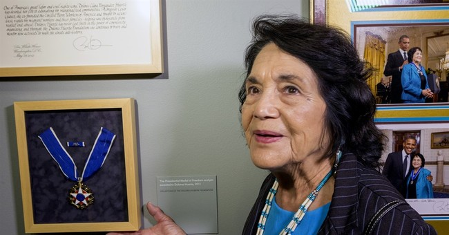 Huerta: No ill feelings with Rosario Dawson over Sanders