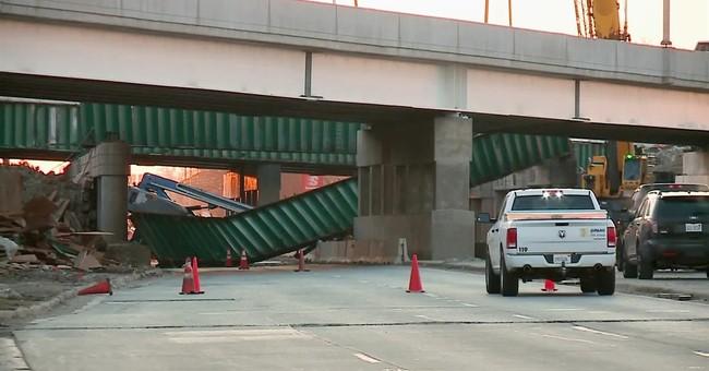 45-ton beam falls on Illinois construction crew, killing 1