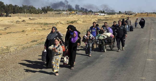 Iraqi forces face heavy resistance in IS-held town