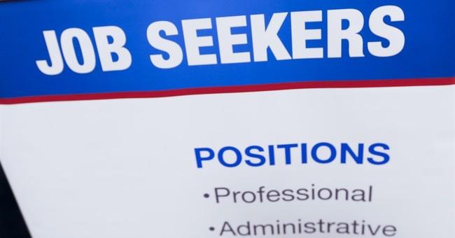US hiring reaches 9-year high; job openings slip