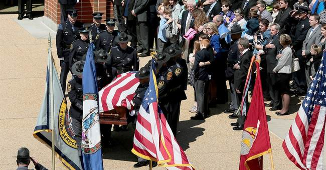 Funeral held for Virginia trooper slain at bus station