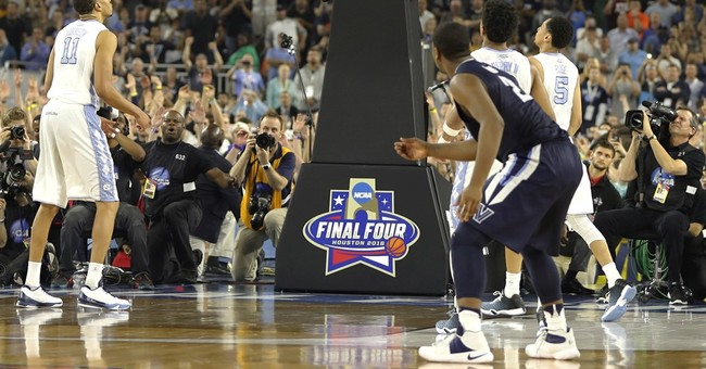 A look at the NCAA Tournament, ending with shot for the ages
