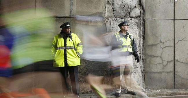 Boston Marathon security: 5,000 police, no drones, backpacks