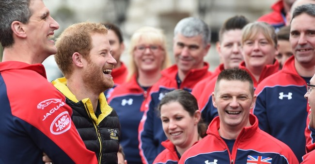 Prince Harry introduces UK's squad for 2016 Invictus Games
