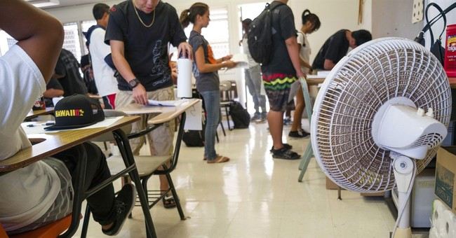 Hawaii lawmakers push for relief from hot classrooms