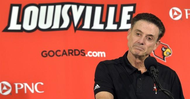 Louisville announces more sanctions for men's basketball