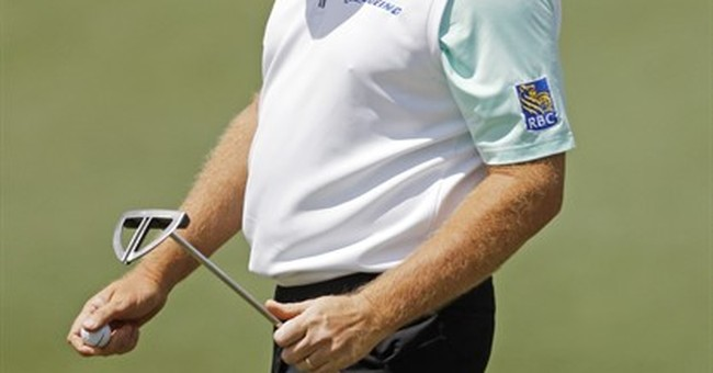 Big debacle for Big Easy: A 6-putt 9 to start the Masters