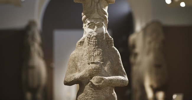 AP PHOTOS: Iraqi museum refuge for relics of the past