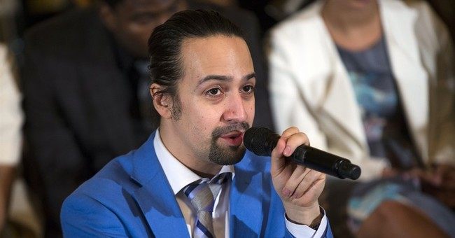 Lin-Manuel Miranda celebrates immigrants in prize speech