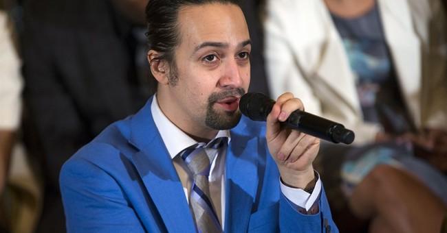 Lin-Manuel Miranda celebrates immigrants in prize speech