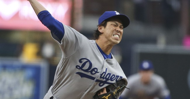 Maeda homers in Dodgers' win; Padres set mark for futility