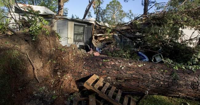 Storms injure several in Georgia, cause damage in Alabama