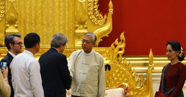 Aung San Suu Kyi has busy week meeting foreign diplomats
